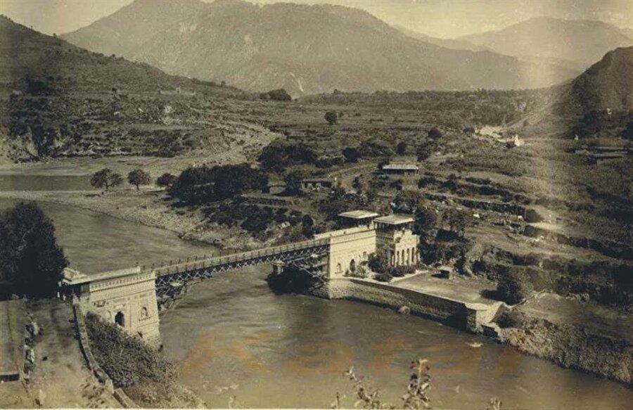 Muzafferabad'ın 1885 tarihli bir fotoğrafı.