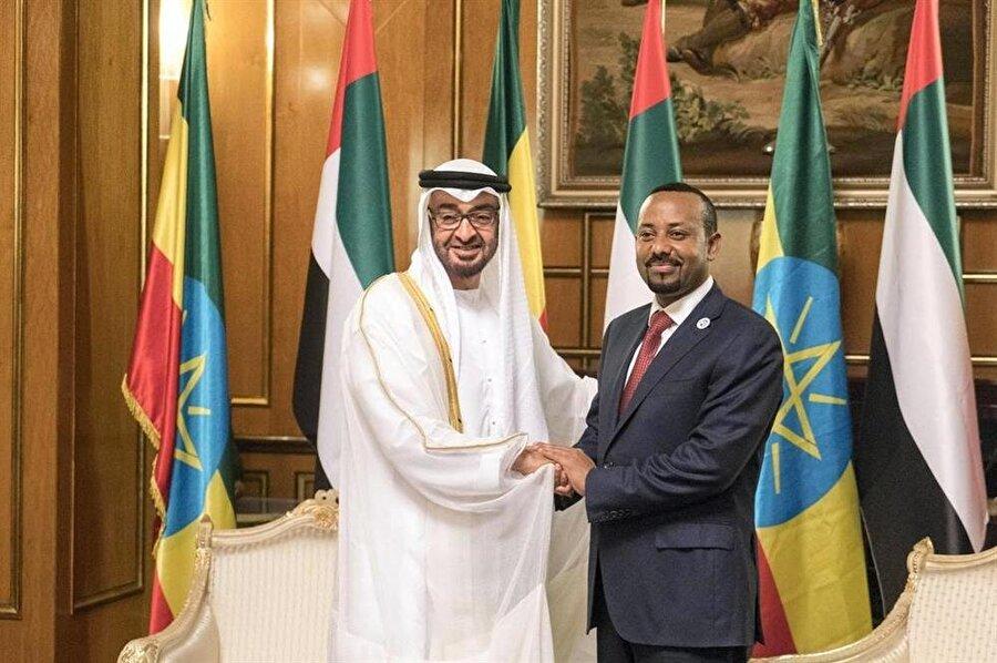 BAE, geçtiğimiz günlerde Etiyopya ekonomisine 3 milyar dolarlık nakit desteğinde bulunmuştu.