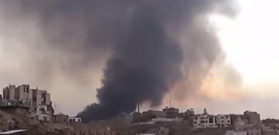 Riyad Kral Halid Uluslararası Havaalanı'nı hedef alan füze havaalanı yakınlarında imha edildi.