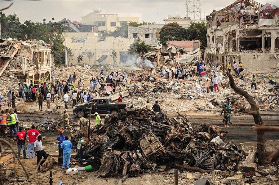 Eş-Şebab örgütünün sivillere yönelik saldırıları, örgütün daha fazla askeri operasyonla muhatap olması sonucunu doğurdu.