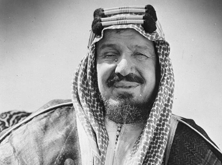 Suudi Arabistan'ın kurucu kralı Abdulaziz el Suud.