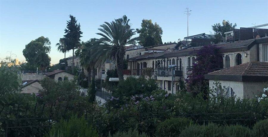 Mişkenot Şaananim semti, günümüzde konferans ve kültür merkezi kompleksi olarak korunmaktadır. (Fotoğraf: İbrahim Furkan Özdemir)