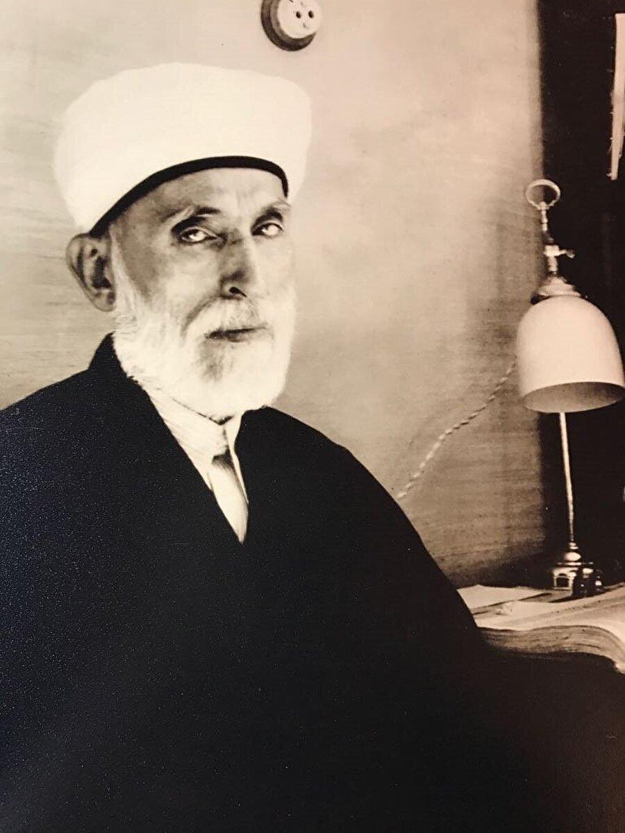 Şeyhülislam Mustafa Sabri Efendi.