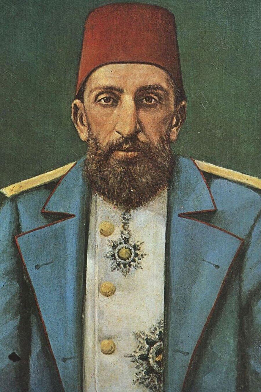 """Mustafa Sabri Efendi II. Abdülhamid karşısında gerçekleştirilen """"Huzur Dersleri""""ne katıldı."""
