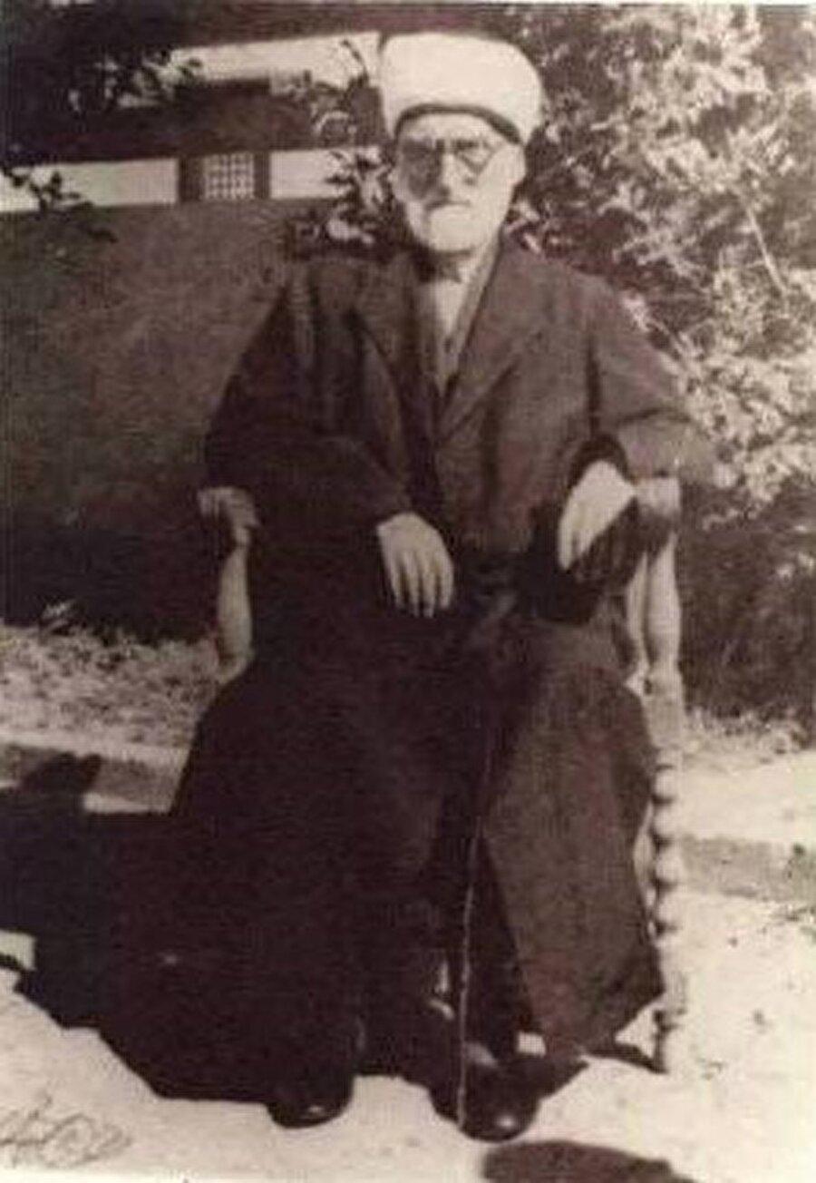 Mustafa Sabri Efendi'nin Kahire zamanlarından bir fotoğraf.