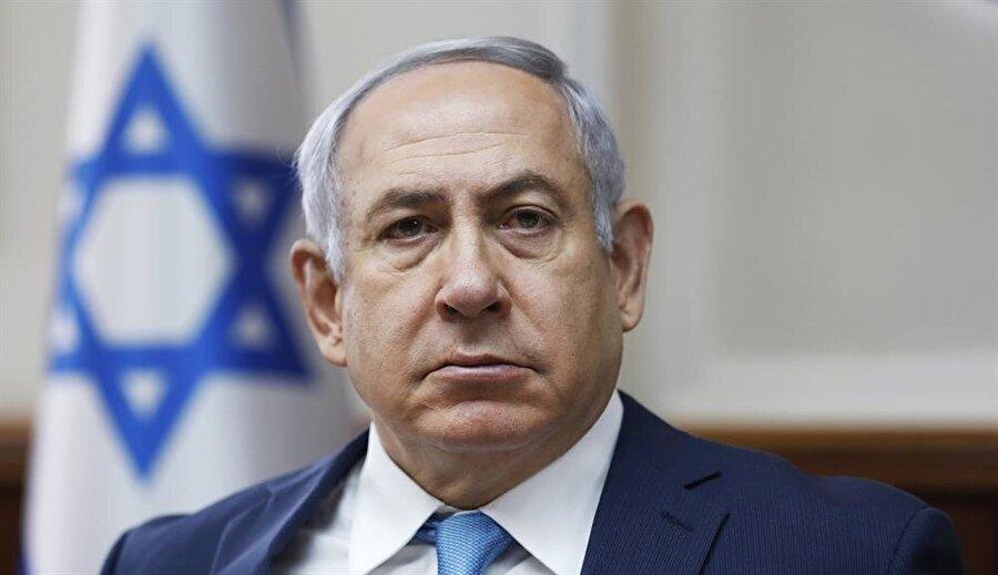 İsrail Başbakanı Benyamin Netenyahu.