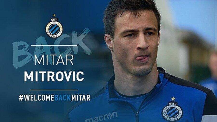 Mitrovic kariyerine Club Brugge'da devam edecek.