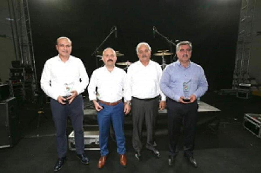 Yeni Amasya Spor Kulübü yetkilileri