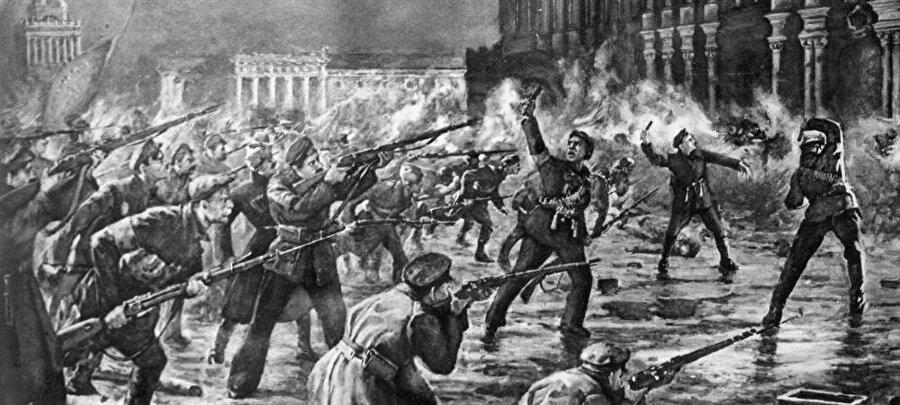 Josip Broz, Rusya'da gerçekleşen Bolşevik Devrimi'nin karmaşasından istifade ederek, esir tutulduğu Kazan'dan ülkesine döndü.