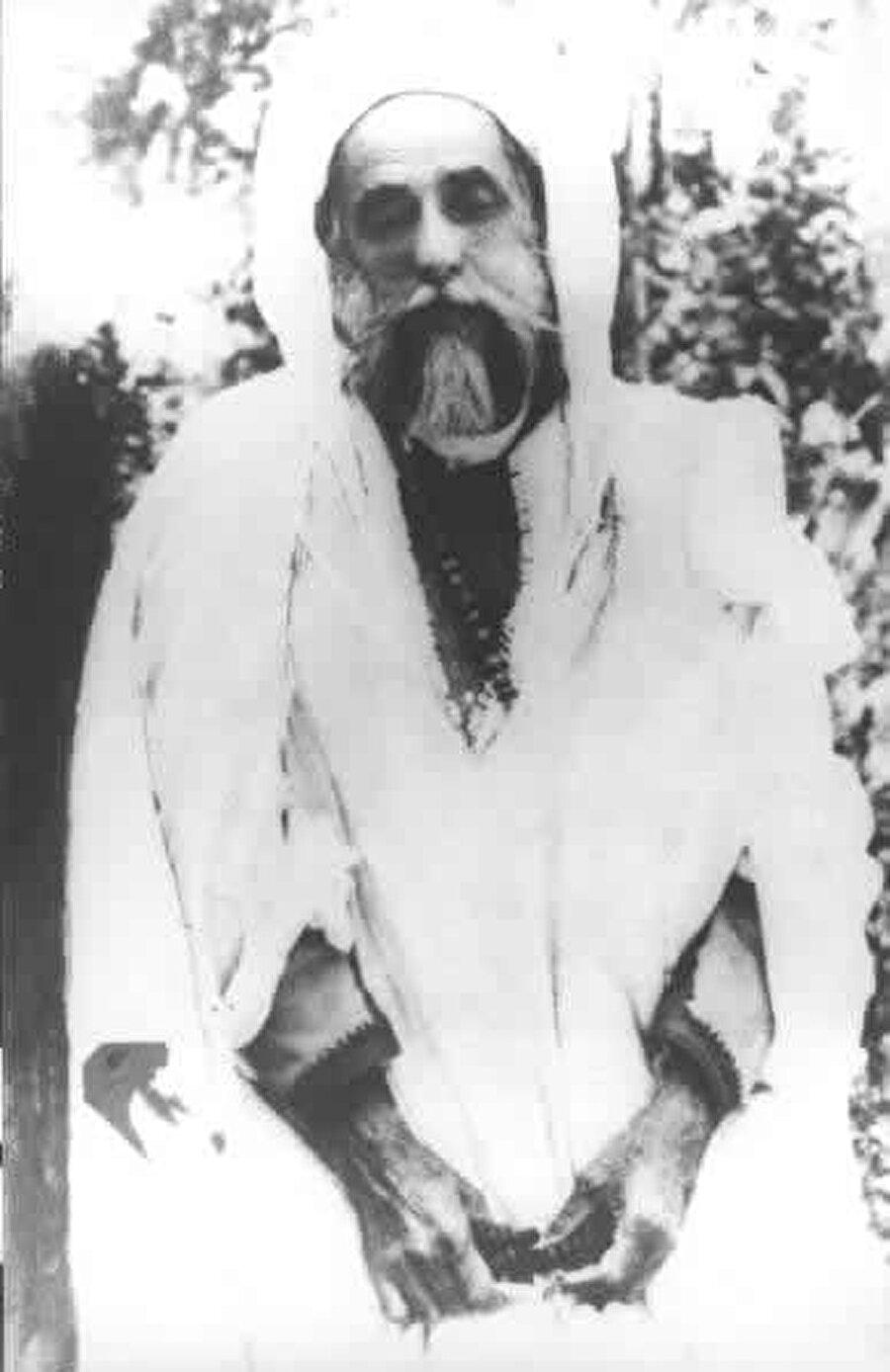 Şeyh Ahmed el-Alevi.