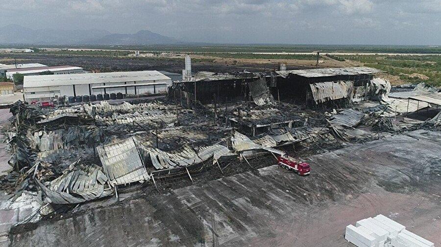 Yangına Antalya Büyükşehir Belediyesine bağlı 42 araç, 150 personel, Orman Bölge Müdürlüğüne ait 1 uçak, 4 helikopter, 6 arazöz, 2 dozerle müdahale edilmişti.
