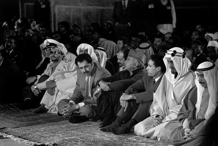 Lahor'da düzenlenen zirve, dönemin bütün Müslüman liderlerini bir araya getirmişti.
