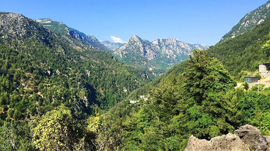 Lübnan'ın haşmetli dağları, Fenikeliler için sırtlarını güvenle yasladıkları bir sığınaktı.