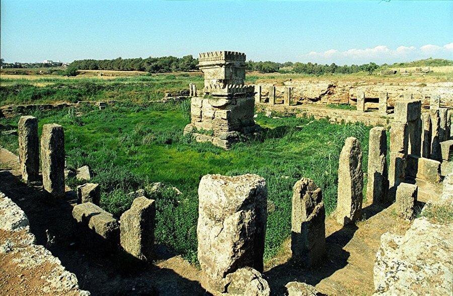 Suriye'nin Akdeniz kıyısındaki kentlerinden Tartus yakınlarında bir Fenike yerleşkesi.