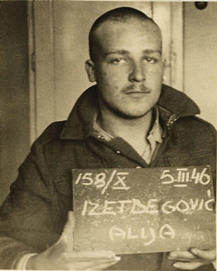 Aliya, askerlik görevini yerine getirdiği sırada, komünistlerle işbirliği yapanlarca ihbar edilmiş ve gözaltına alınmıştı.