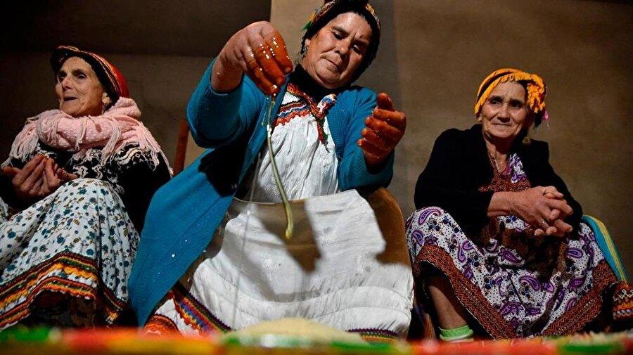 Cezayirli Berberi kadınlar