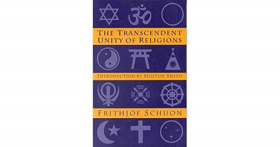 """Schuon'un """"Dinlerin Aşkın Birliği"""" kitabı."""