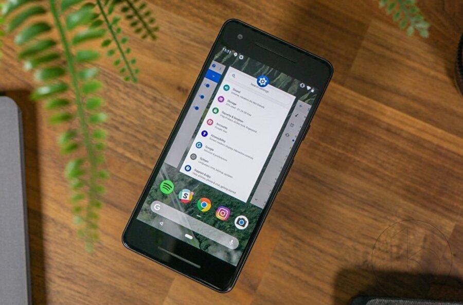 Android 9 Pie güncellemesi her zaman olduğu gibi ilk etapta Google Pixel'lere geliyor.