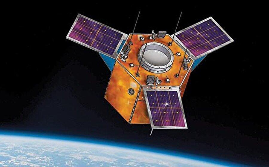 Göktürk-2 temsili görsel.