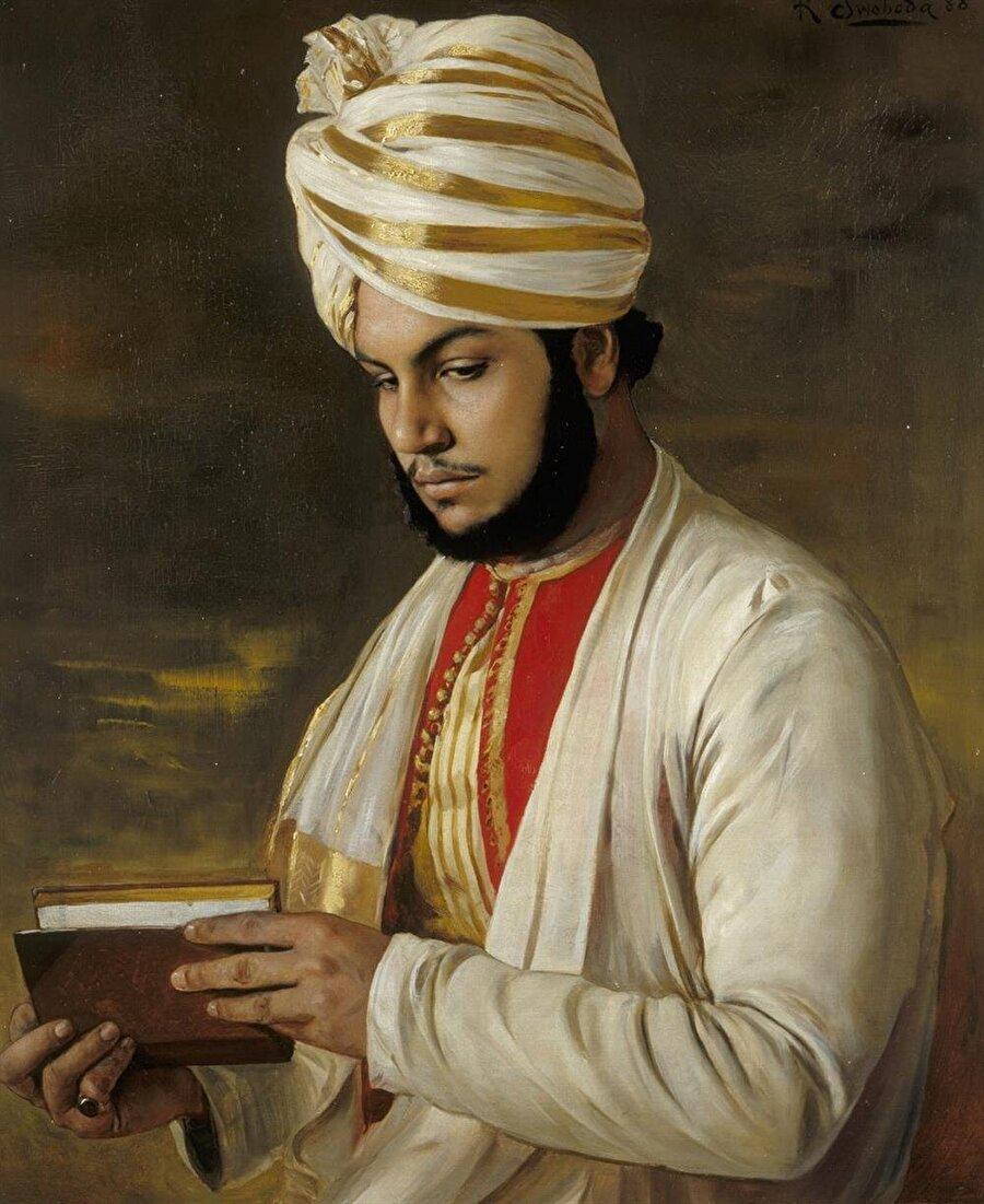 İngiliz saray ressamları, Abdulkerim'in çok sayıda tablosunu yaptılar.