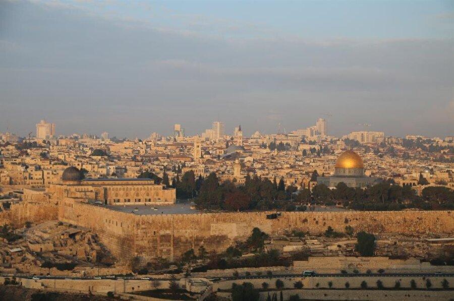 Kadim Kudüs, bugünkü görüntüsüne büyük ölçüde Müslümanların kontrolüne geçtikten sonra ulaştı.