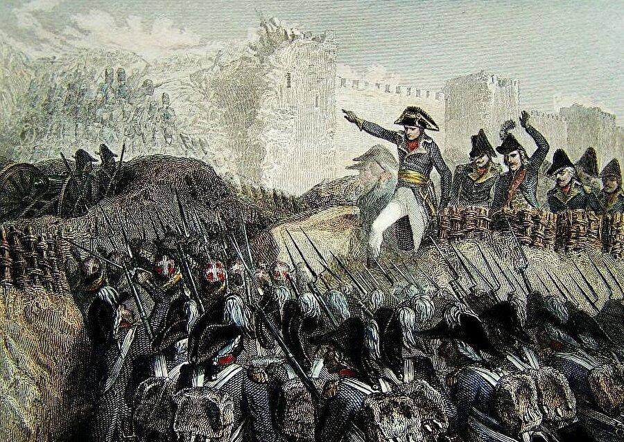 Napolyon elindeki asker sayısını dikkate alarak Akka'nın kısa bir sürede düşeceğini öngörüyordu.