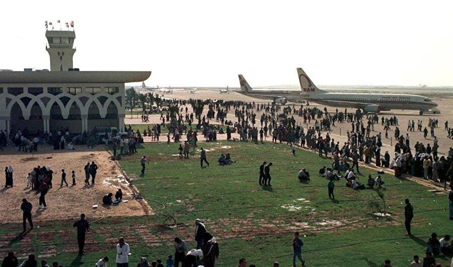 Gazze Havaalanı'nın 20 aylık kısa ömründe birçok Arap ülkesine seferler yapıldı.