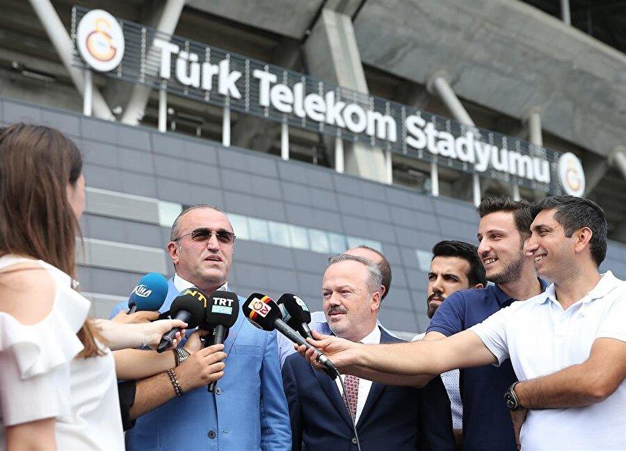 Abdürrahim Albayrak, yaptığı açıklamada bugün bir transfer açıklayacaklarını ve söz konusu transfer maliyetinin bir bölümünün NEF tarafından karşılanacağını açıklamıştı.