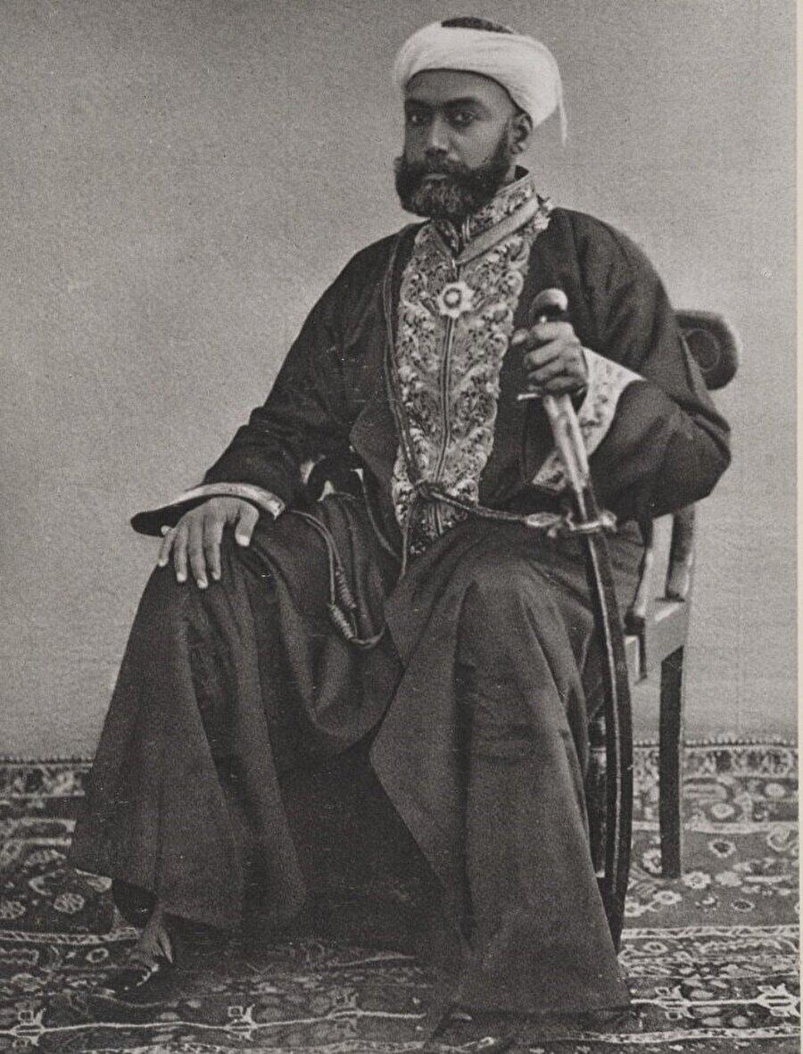 Snouck Hurgronje'un objektifinden Mekkeli bir Seyyid.