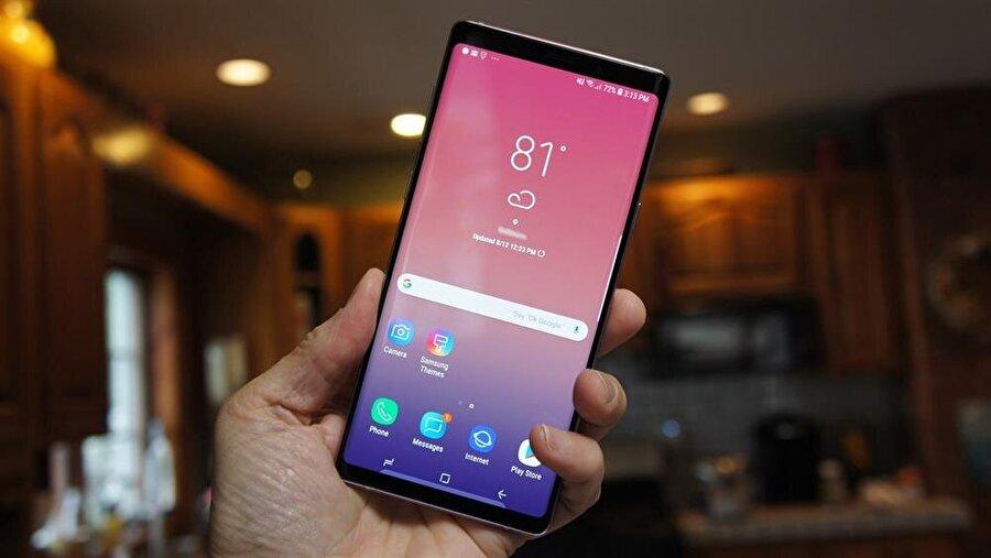 Samsung Galaxy Note 9 güncellemesiyle birlikte 0.2 saniye ve 0.4 saniyelik ağır çekim kamera modları sisteme ekleniyor.