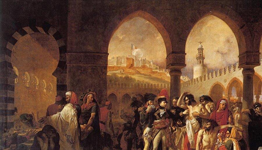 Napolyon ile birlikte doğu seferine çıkan ressam Antoine-Jean Gros'un resimleri Oryantalist akımın ilk örnekleri olarak kabul ediliyor.