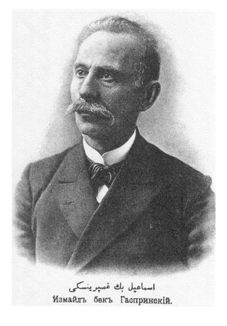 Cedidizm hareketinin önderi, düşünür ve yazar İsmail Gaspıralı.