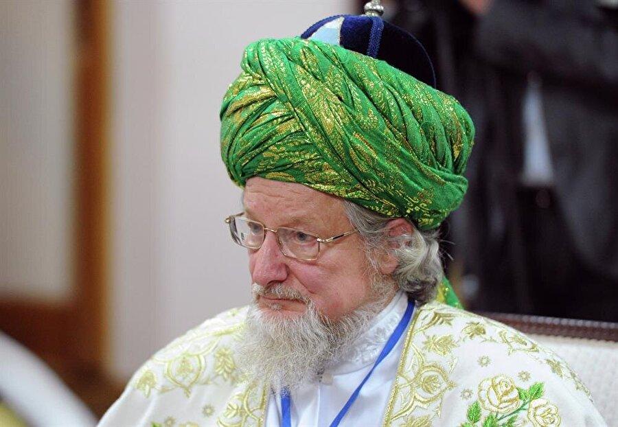 Rusya Müslümanları Merkezi Dini İdaresi Başkanı Baş Müftüsü Talgat Taceddin.