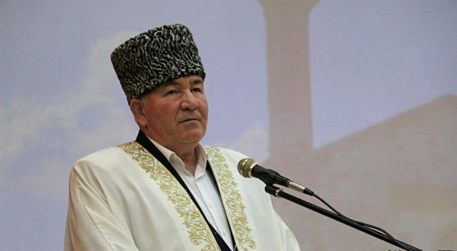 Kuzey Kafkasya Müslümanları Koordinasyon Merkezi'nin başkanı İsmail Berdiyev.