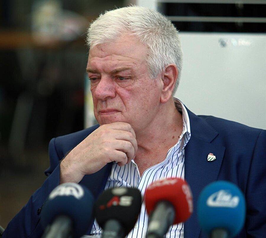 Bursaspor Başkanı Ali Ay