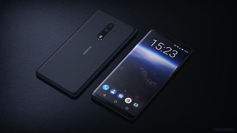 IFA 2018'de Nokia'nın da yine tepe seviyesi modelini sergileyeceği tahmin ediliyor.