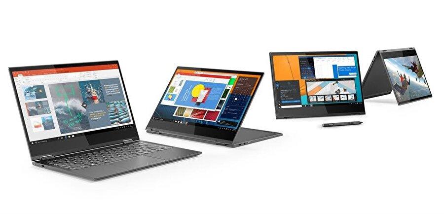 Lenovo, iddialı dizüstü bilgisayar tasarımlarına devam ediyor.
