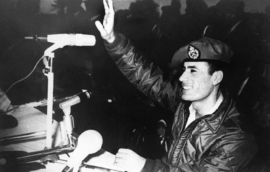 Kaddafi, Libya'da yönetime el koyduğunda 27 yaşındaydı.