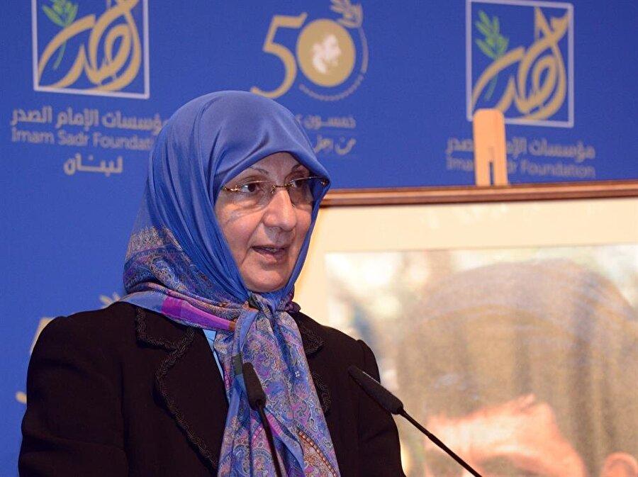 Musa Sadr'ın kız kardeşi Rabab Sadr, ağabeyinin ismine kurulan vakfın da başkanlığını yürütüyor.