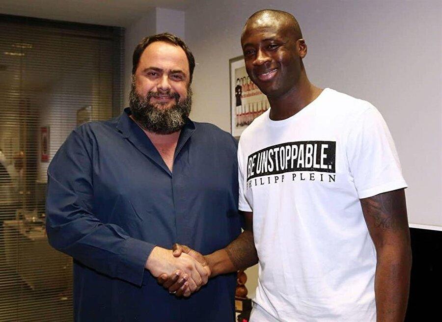 Fildişi Sahilli oyuncu daha önce 2005-2006 sezonunda Yunan kulübünde forma giymişti.