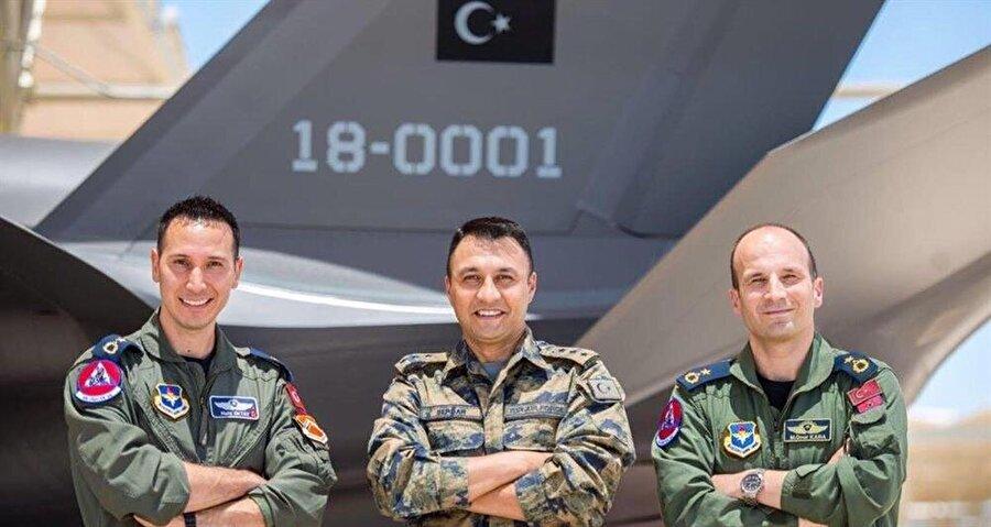 THK kurumu kapsamına giren ilk F-35