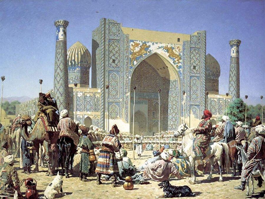 Kervan Bağdat'tan çıktıktan sonra ilk uzun soluklu duraklamasını Buhara'da gerçekleştirdi.