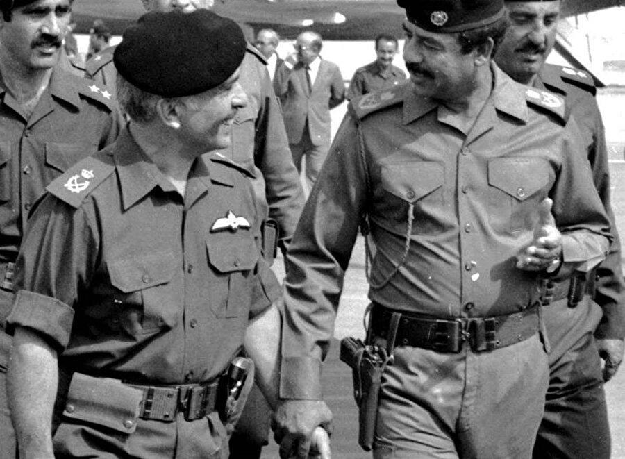Kral Hüseyin, Körfez Savaşı sırasında Saddam Hüseyin lehine arabuluculuk yapmış, ancak günün sonunda yalnız kalmıştı.