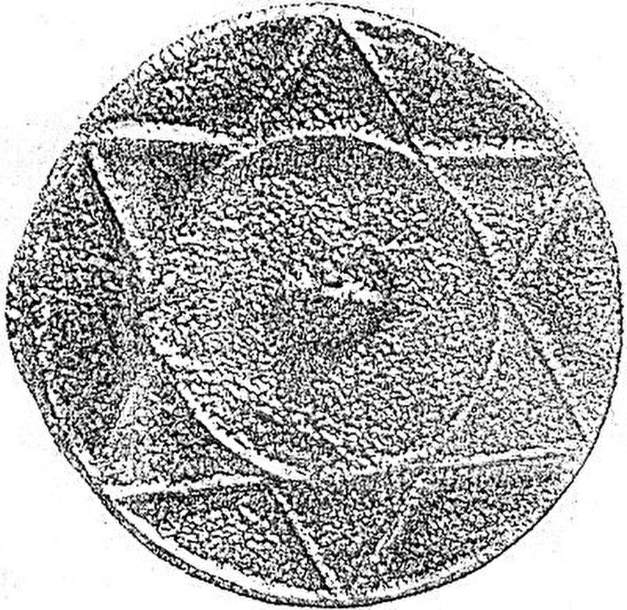 Hazarlar yaşadığı bölgede yapılan kazılarda, Davud Yıldızına benzer bir sembole sahip bir mühür ortaya çıkarıldı.