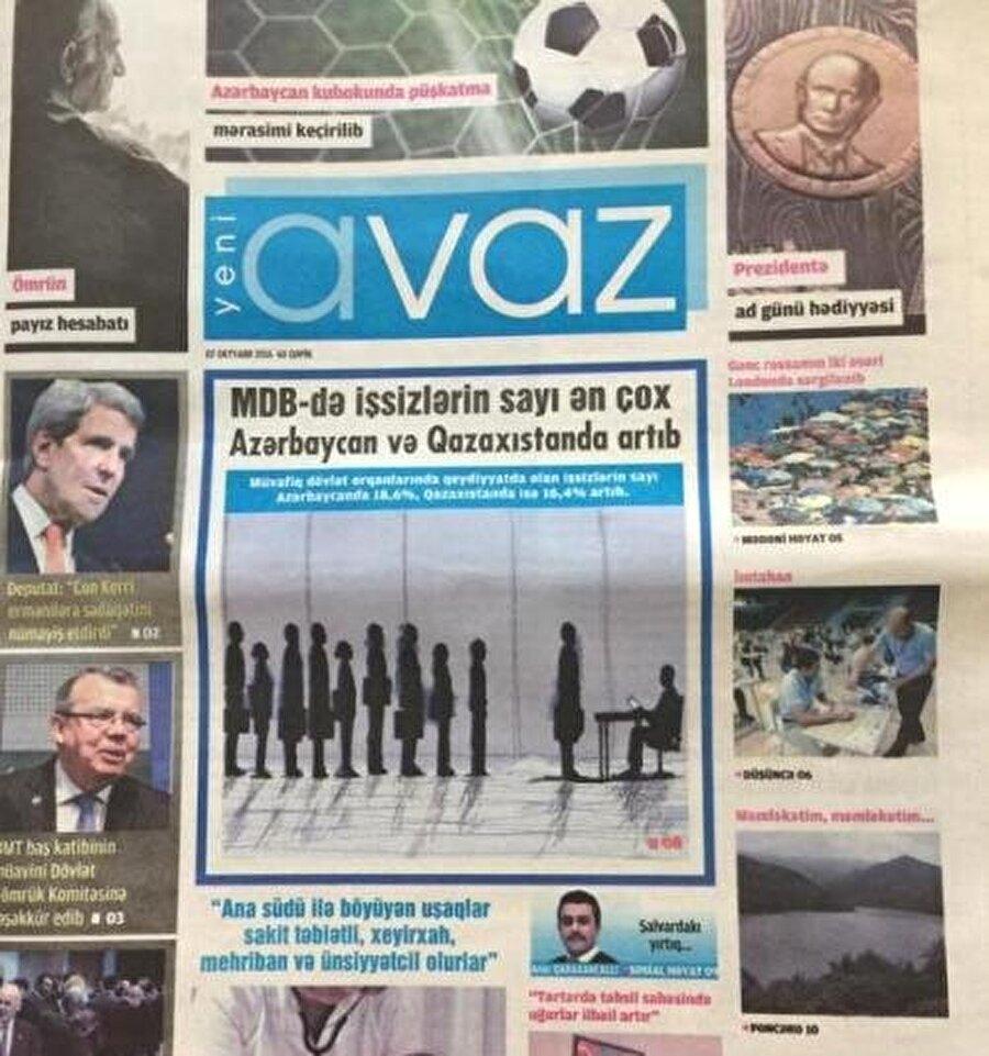 """""""Zaman Azerbaycan"""", yayın hayatına """"Yeni Avaz"""" adıyla devam ediyor."""