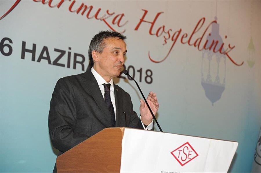 Türk Standartları Enstitüsü (TSE) Başkanı Adem Şahin