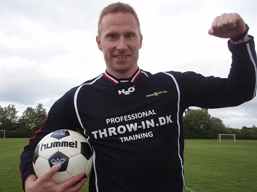 Thomas Gronnemark, 42 yaşında.