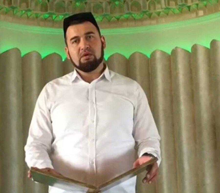 Özbek imam Fazliddin Parpiyev, geçtiğimiz haftaya kadar görevini sürdürüyordu.