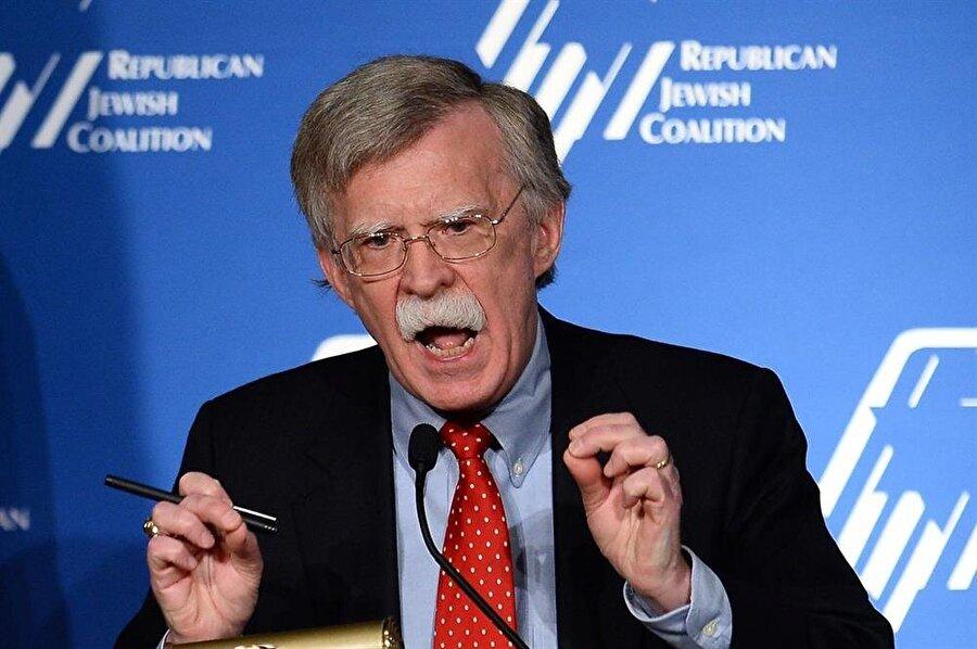 Ulusal Güvenlik Danışmanı John Bolton, ABD'deki Yahudi lobilerine çok yakın bir isim.