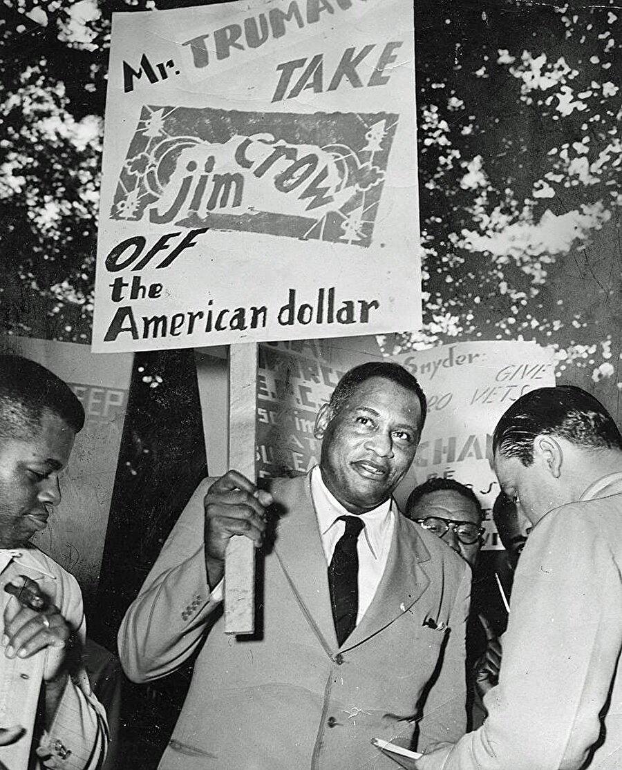 Jim Crow çoğu zaman protestoların merkezinde yer aldı.